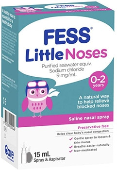 Fess Little Noses Aspirator and Spray​
