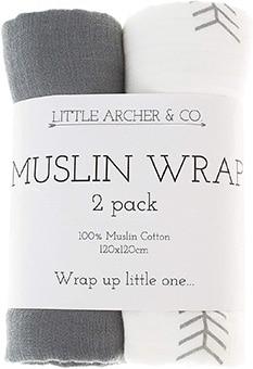 Little Archer & Co. Muslin Wraps