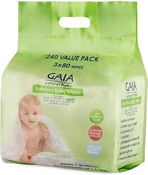 Gaia Natural Bamboo Baby Wipes