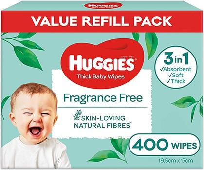 Huggies Fragrance Free Wipes