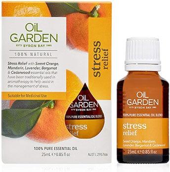 Oil Garden Stress Relief Essential Oil Blend 25mL