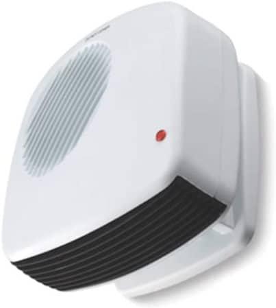Scenic Tech Bathroom Wall White Fan Heater
