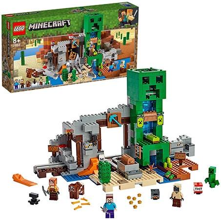 LEGO Minecraft The Creeper Mine Building Set