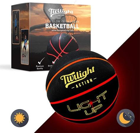 Twilight Action Light Up Basketball
