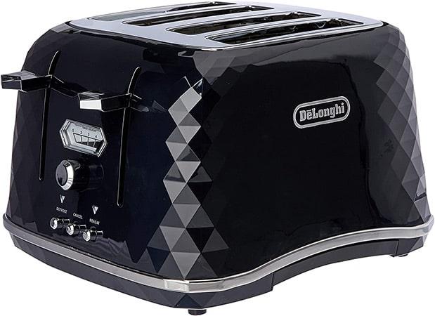 DeLonghi Brillante Exclusive 4 Slice Toaster