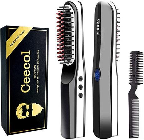 Geecol Beard Straightener Brush