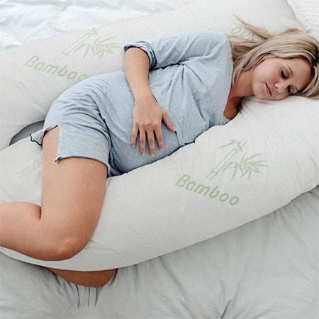 Woolcomfort Bamboo Maternity and Nursing Pillow