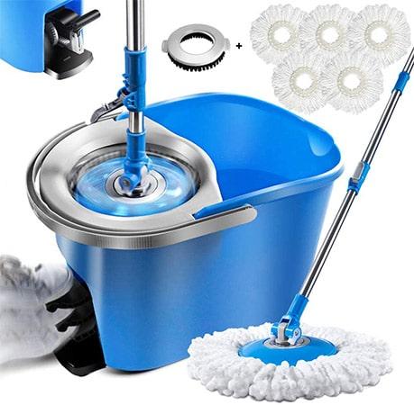Magic Spin Mop and Bucket Set