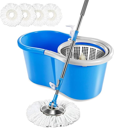 Masthome 5L Spin Mop Bucket System