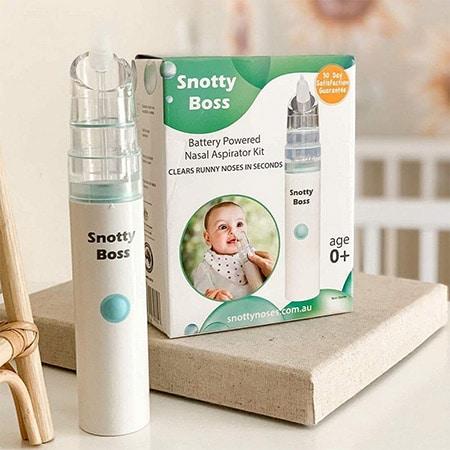 Snotty Boss Nasal Aspirator Kit